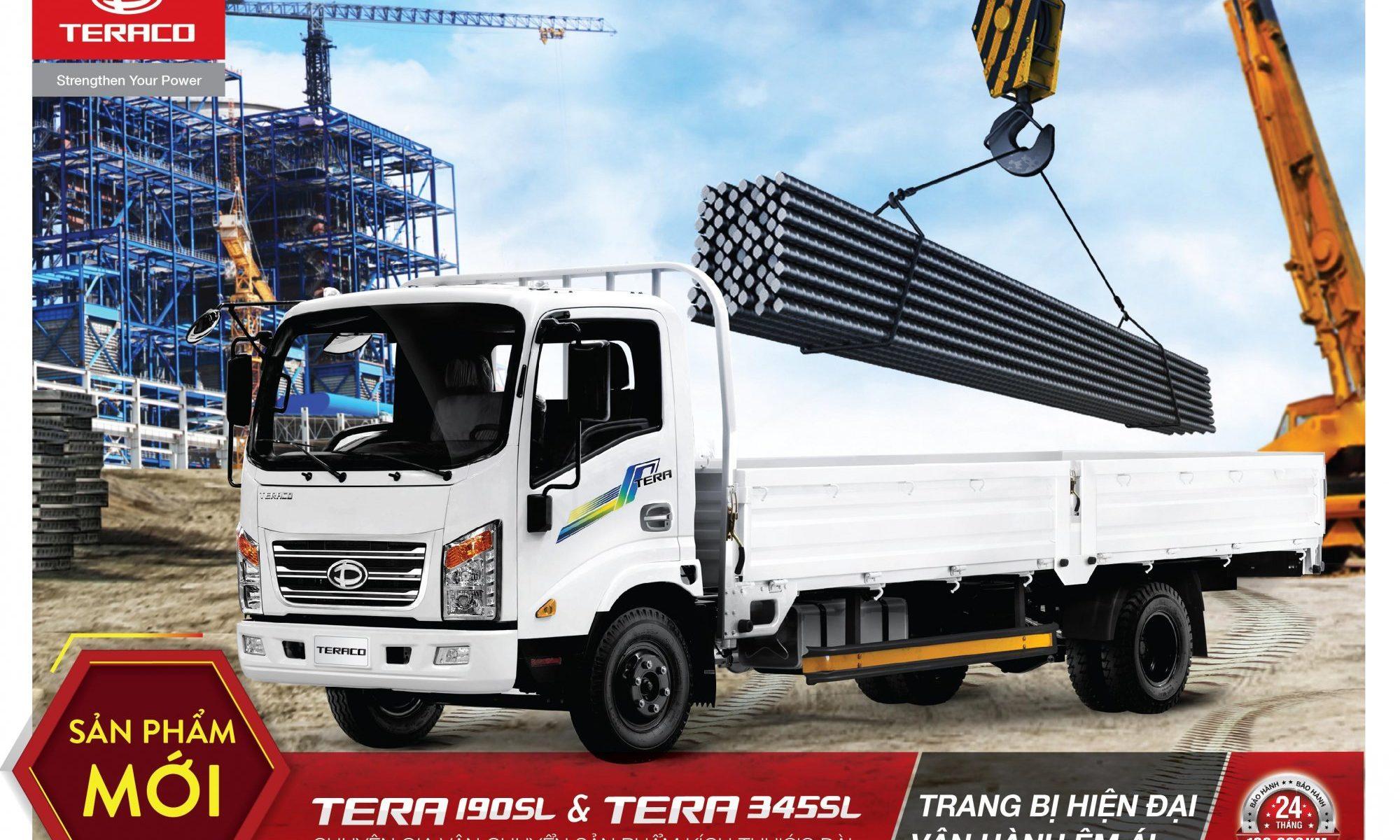 TERA190SL & TERA345SL - Chuyên gia vận chuyển sản phẩm kích thước dài